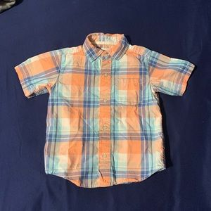 Boys 3T plaid Carters shirt